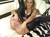 German blonde masturbate on camera
