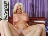 Horny guy, Alexis ford is fucking hard on bed