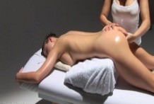 The girl and happy ending massage