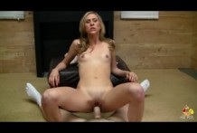 Great fucking blonde slut!