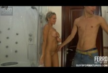 Horny young fucked your cousin in the bathroom!