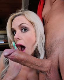 Nina Elle loves the big cock!