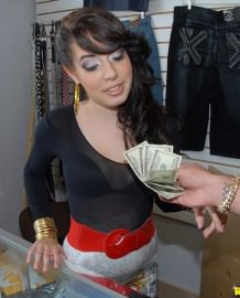 Allison Banks slut fucking for money!