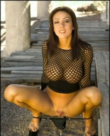 Horny sexy brunette slut Macy Sky!