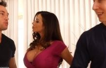 Arielle Ferrera two have a threesome with her boyfriend!