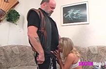 Old couple fuck scene!