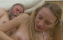 The young wife fucking old man!