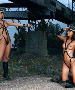 Susana Spears and Danica Venus romantic lesbian sex!
