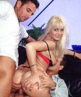 Nikki Daniels awesome threesome sex pictures!